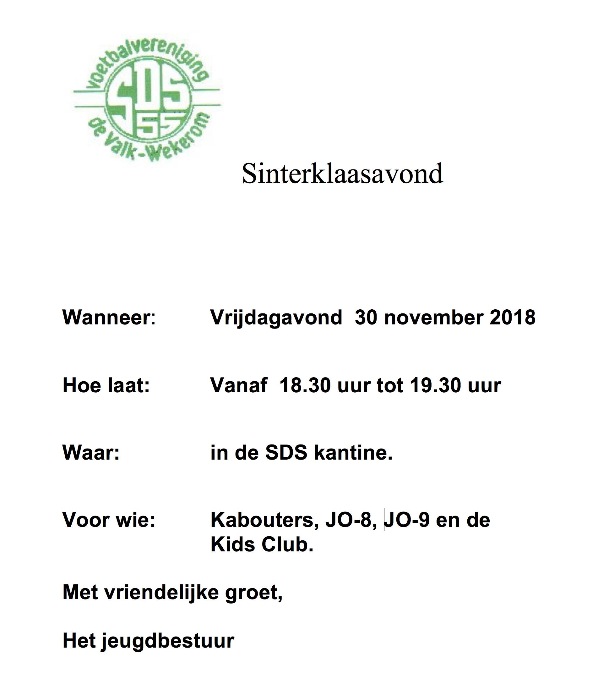 uitnodiging2018sint
